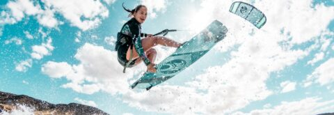 Kiteboarding Lessons - Experienced and Professional