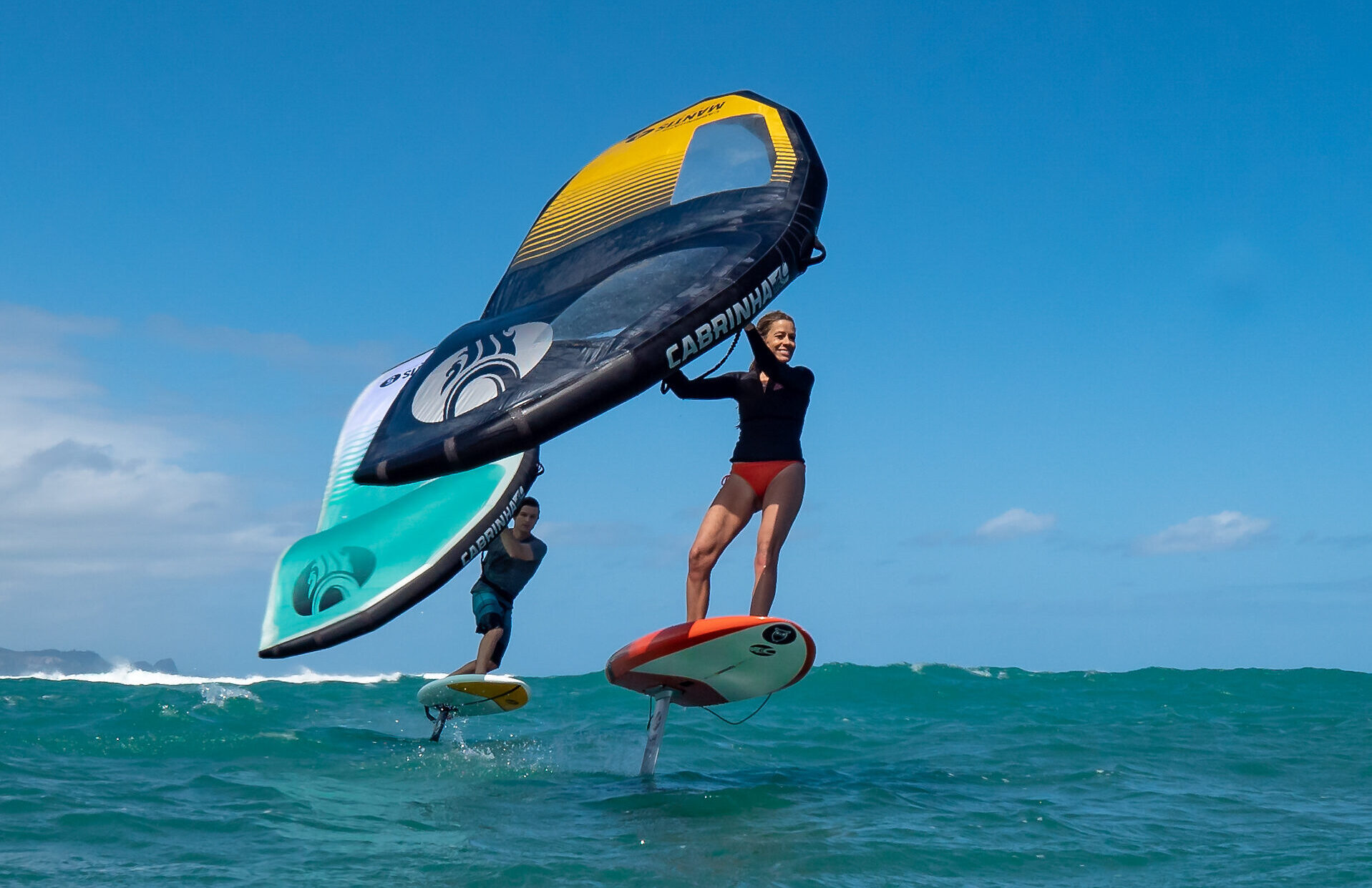 Picture of 2hr PRIVATE DISCOVER WINGSURFING LESSON - GIFT CERTIFICATE